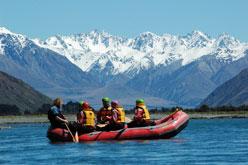 Start of the Rangitata Rafting Experience