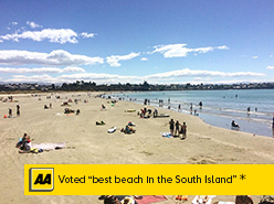 Caroline Bay, voted best beach in the South Island-AA