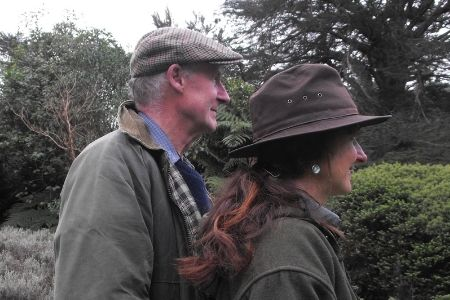 John Simister and Sarah Purdy Staglands Wildlife Reserve Owners