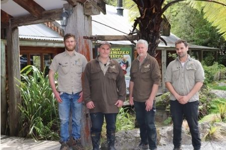 Staglands Wildlife Reserve Staff