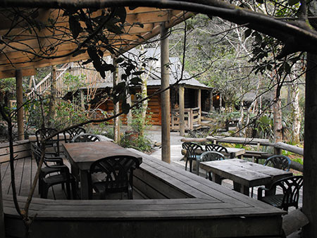 Enjoy stunning views from outdoor decks