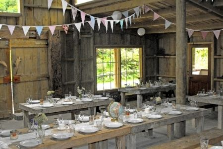 The Barn is a blank canvas to decorate as you wish for you memorable wedding.