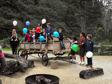 Kids love to have fun at Staglands Wildlife Park parties