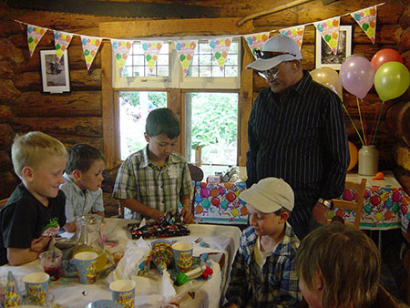 Staglands Wildlife Park is a great childrens birthday party venue in wellington