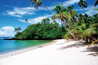 Samoa's climate is tropical all year round, with an average daily temperature of 29 degrees Celsius