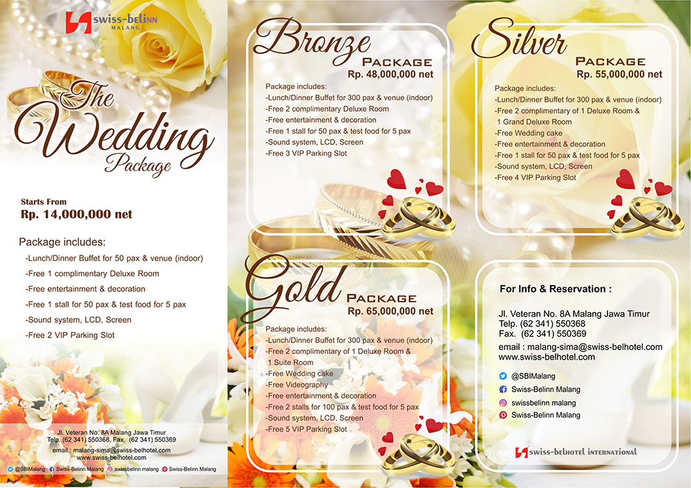 Wedding swiss belinn malang too see our updated price list junglespirit Images