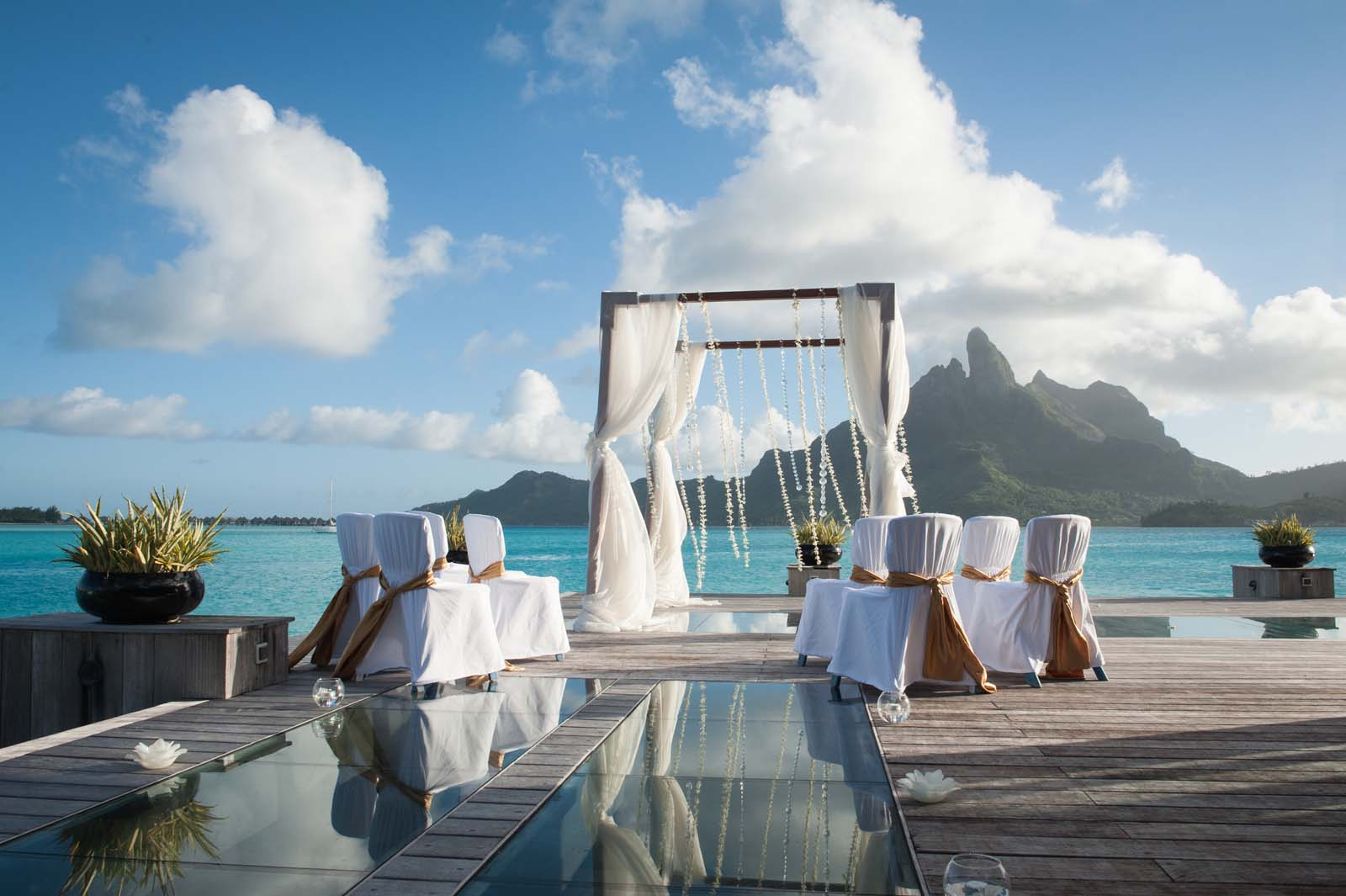 Tahiti Weddings Romantic Vacations Bora Bora French