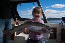 Fantastic Taupo fishing charter
