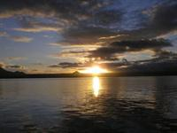 Sun Rise Lake Taupo