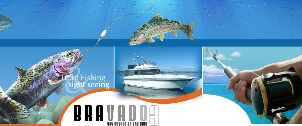 Lake Taupo Boat Fishing Charter, Lake Taupo Boat Cruise : Taupo Lake Adventures