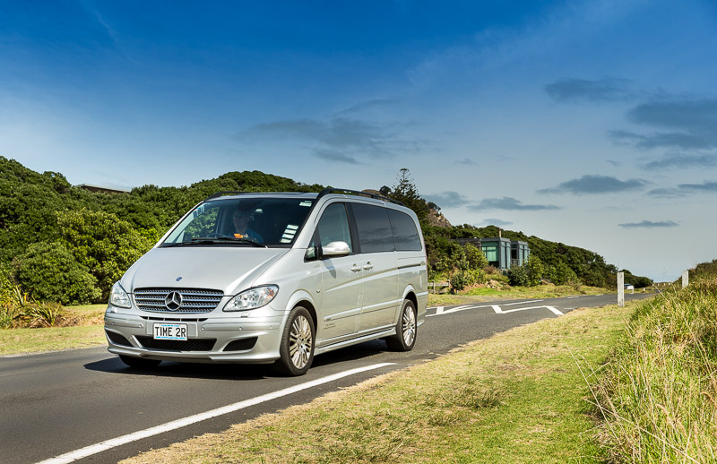 Luxury Mercedes Viano vehicles for up to 6 passengers
