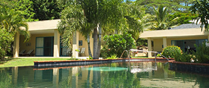 Cook Islands guest house and bed and breakfast Holiday accommodation