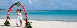 Cook Islands wedding