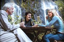 Jonathon and Jennifer at the Falls
