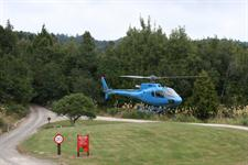 Helicopter landing onsite