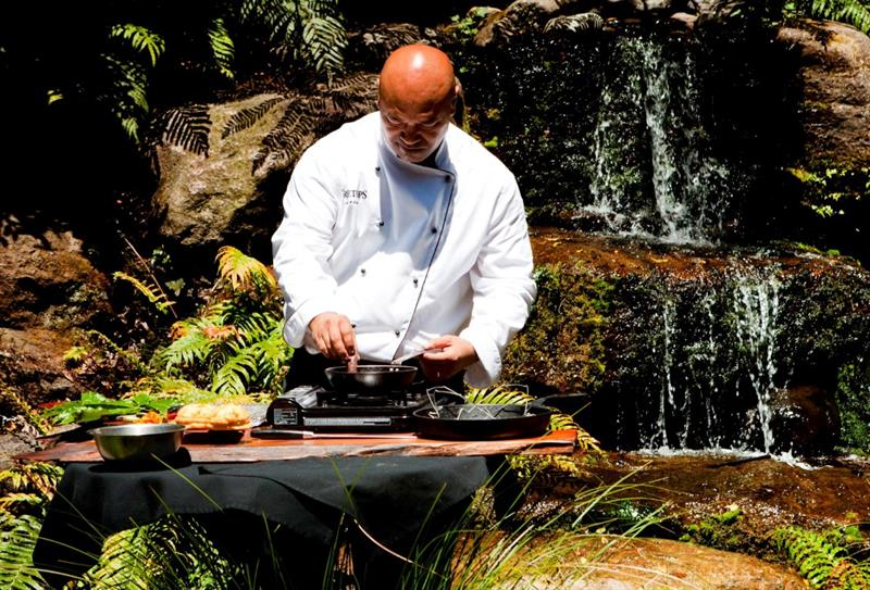 Estate to Plate wild cooking experience with Treetop Lodge