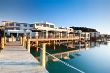 Trinity Wharf Tauranga has a prime waterfront location
