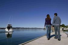Harbour cruises are easily accessible via hotel pontoon