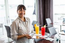 Refreshing beverage menu