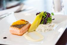 Seared Ora King Salmon with Miso & Maple Glaze,