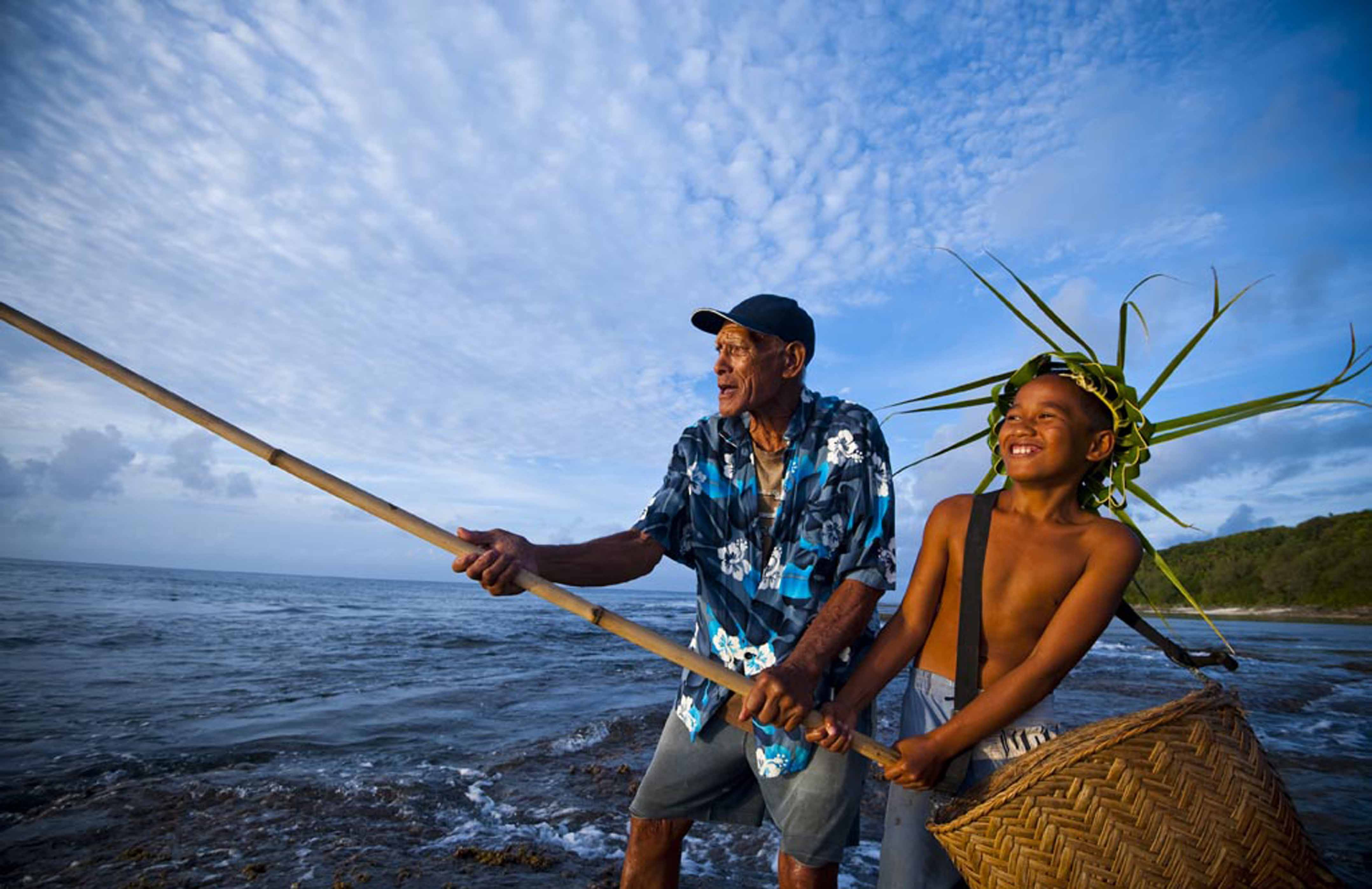 Culture and history luxury cook island accommodation for History of fishing