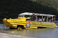 Amphibious fun with Rotorua Duck Tours