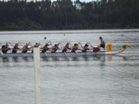 Dragon Boating Champs on Lake Tikitapu