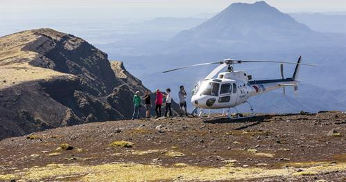 Mt. Tarawera - Volcanic Landing