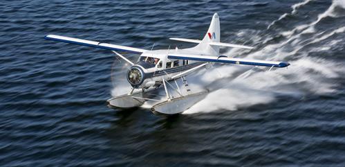Mt. Tarawera by Floatplane