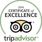 TripAdvisor Logo Certificate of Excellence