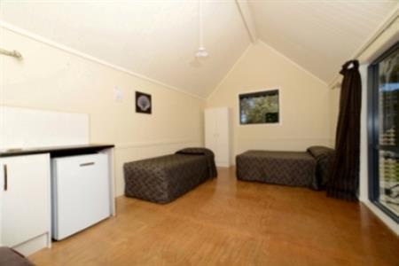 Deluxe kitchen cabin interior