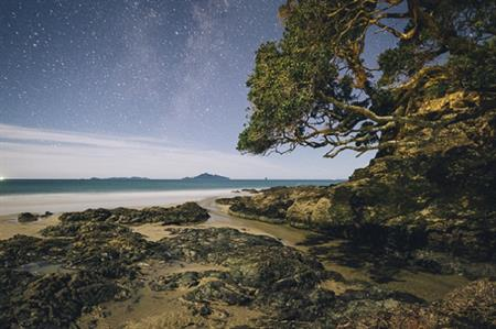 Waipu Cove at night 2 - Russell Ord Photography