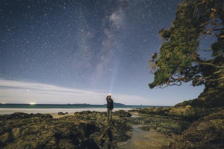 Waipu Cove at night 3 - Russell Ord Photograohy