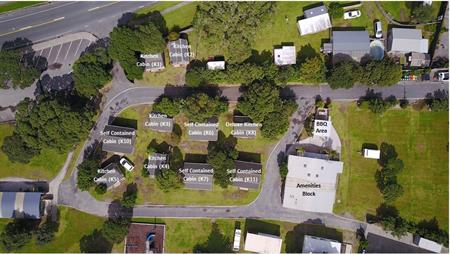 Aerial View of Cabins