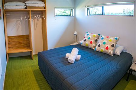 2 Bedroom Self-Contained Cabin - Master Bedroom