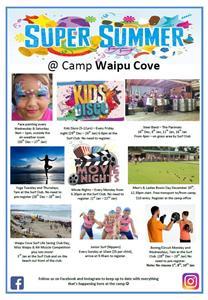 Summer at Camp Waipu Cove Poster