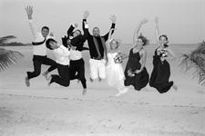 A Cook Island wedding party