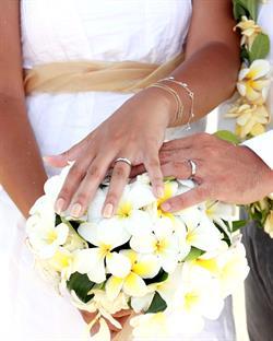 Rarotonga Beach Wedding