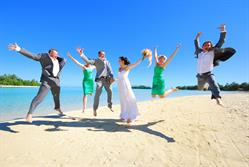 Weddings Cook Islands make it easy for you to bring your whole family