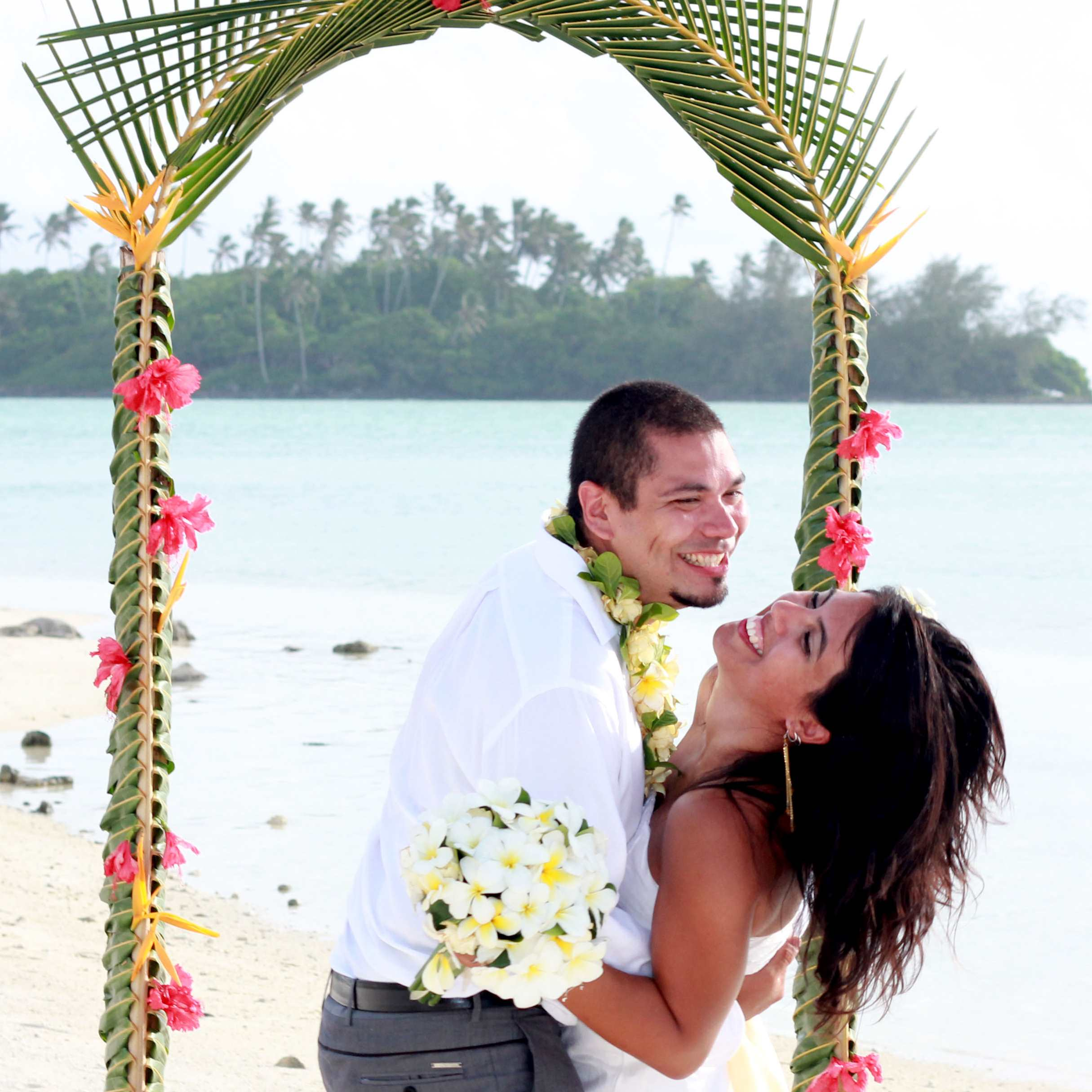 Cook Island Wedding Package Options