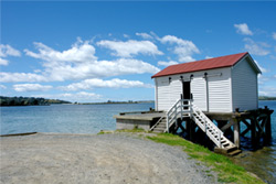 Waterfront location in Whangateau