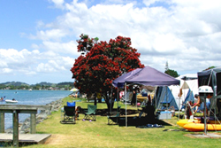 Whangateau Holiday Park has a range of tranquil waterfront accommodation