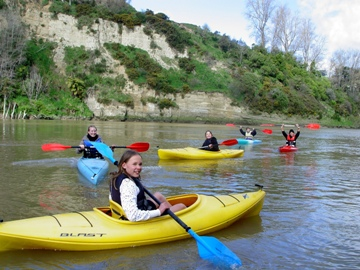 Kayaking Wanganui